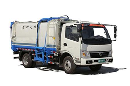 十方推板自装卸式垃圾车