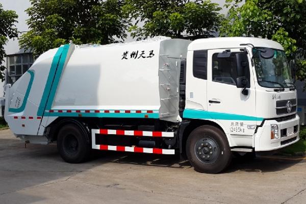 5吨压缩式垃圾车