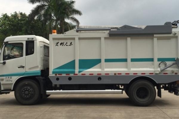 10吨压缩式垃圾车