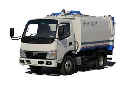 八方推板自装卸式垃圾车