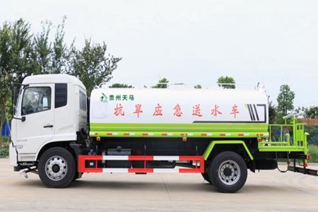 国六东风天锦 14吨 洒水车